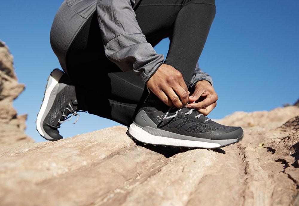 adidas TERREX Free Hiker — outdoorové boty — turistické — kotníkové — pohorky — dámské — pánské