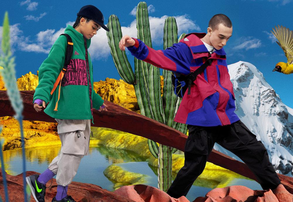 Nike ACG — jaro 2019 — outdoorové oblečení, boty