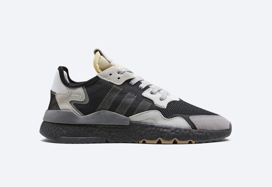 adidas Originals Nite Jogger — černé — pánské — boty — tenisky — sneakers