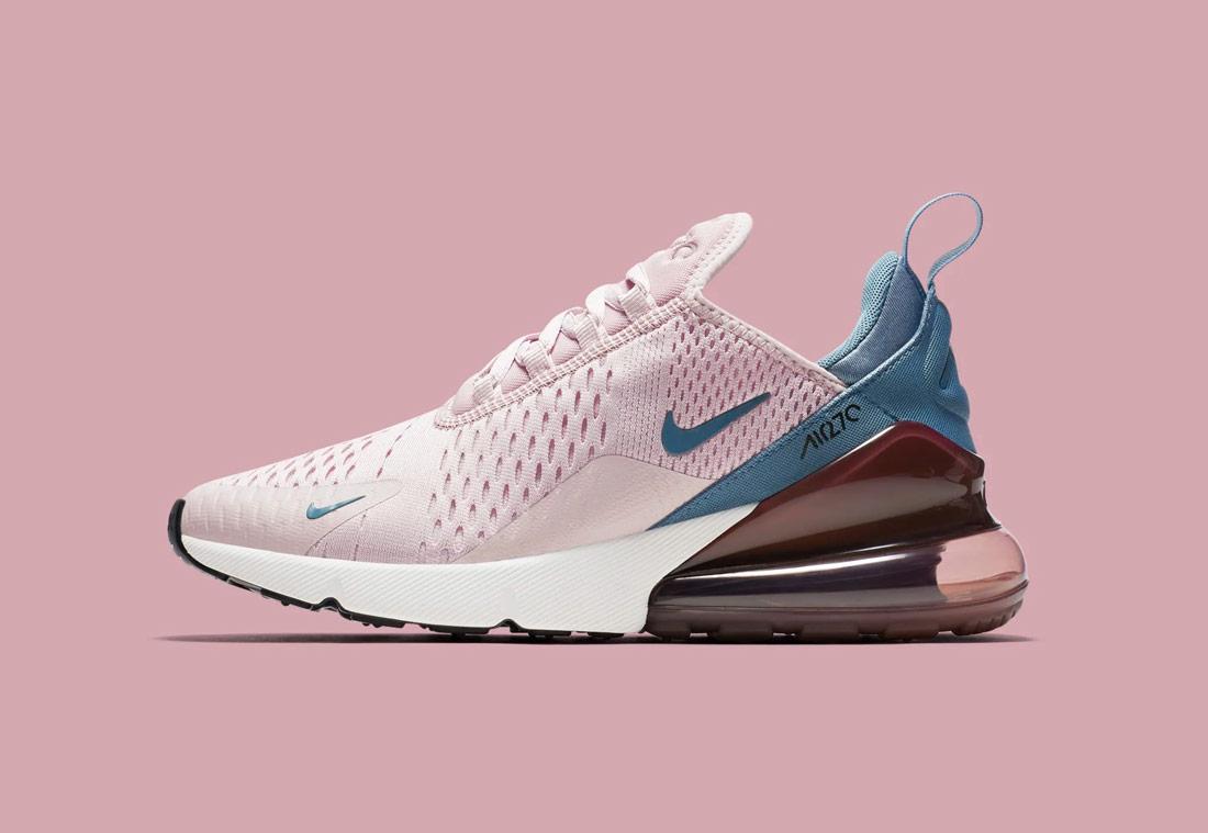 Nike Air Max 270 — růžové — dámské — sneakers — tenisky — Airmaxy