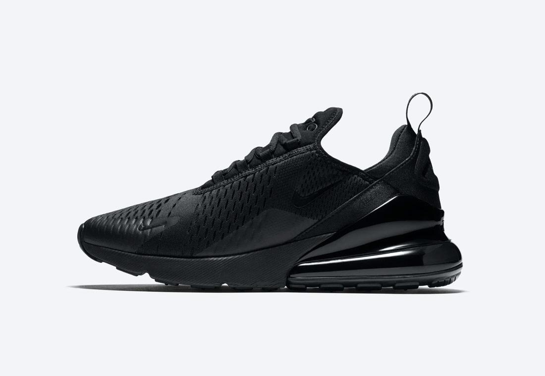 Nike Air Max 270 — černé — pánské — sneakers — tenisky