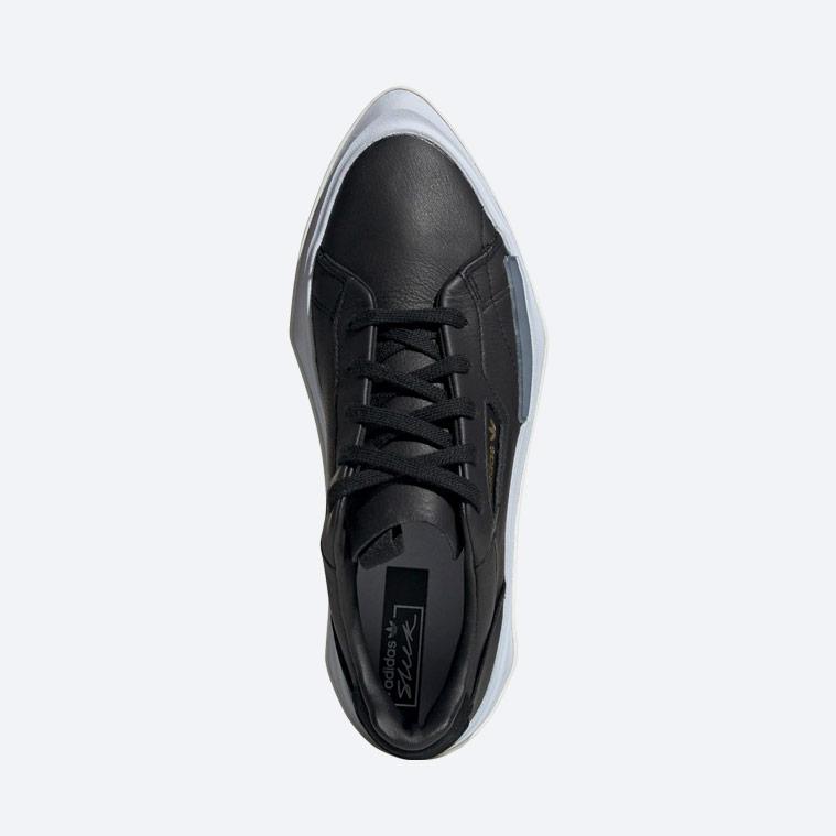 adidas Originals Hypersleek — dámské boty — černé — horní pohled