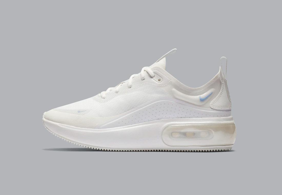 88ad6edb356 Nike Air Max Dia — dámské boty — bílé — white — sneakers — tenisky
