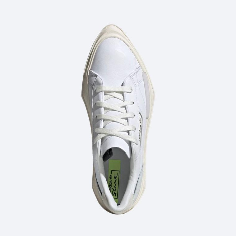 adidas Originals Hypersleek — dámské boty — bílé — horní pohled