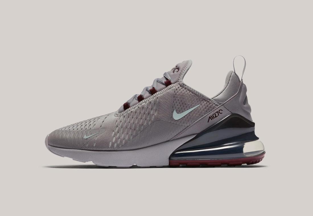 Nike Air Max 270 — šedé — pánské — sneakers — tenisky