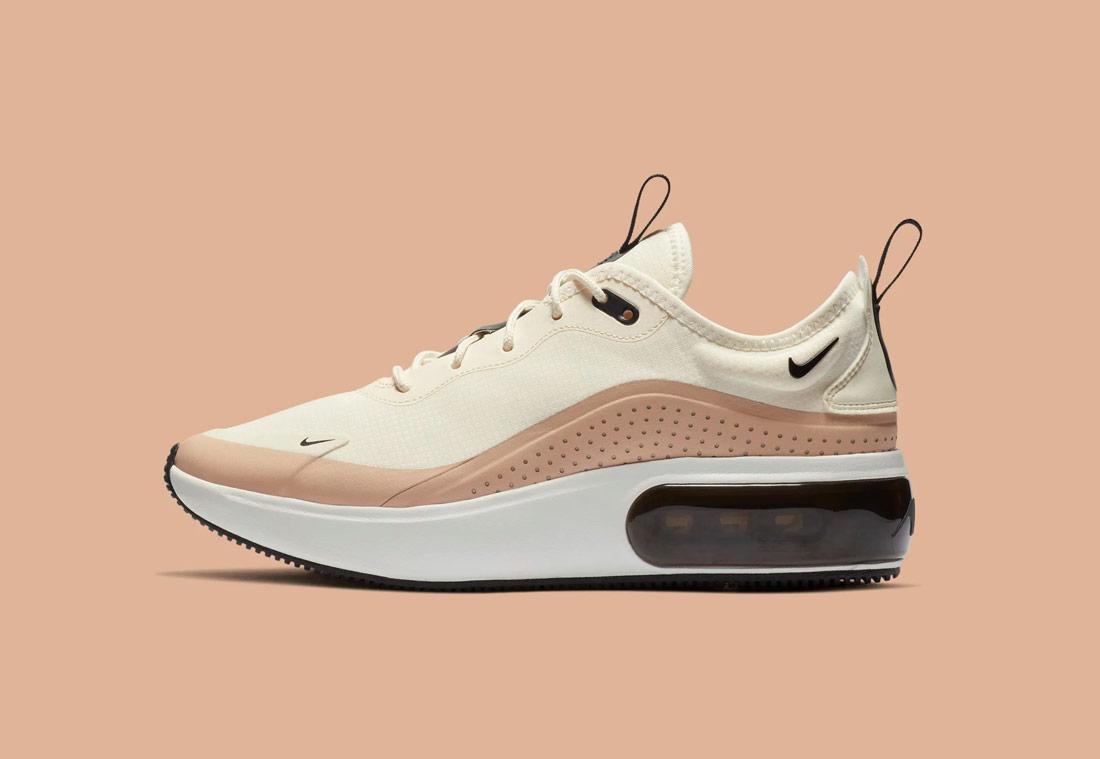 Nike Air Max Dia — dámské boty — béžové, pískové — beige, sand — sneakers — tenisky