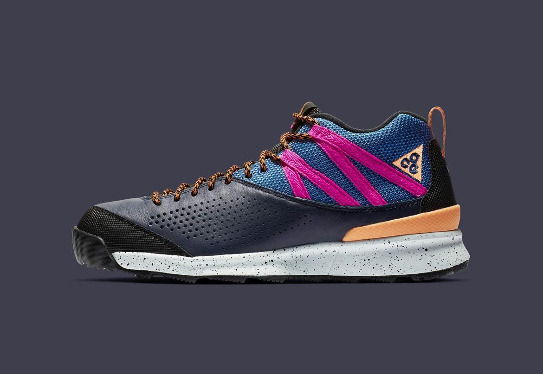 Nike Okwahn II ACG — outdoorové boty — turistické — šedé, barevné — pánské, dámské — jaro 2019