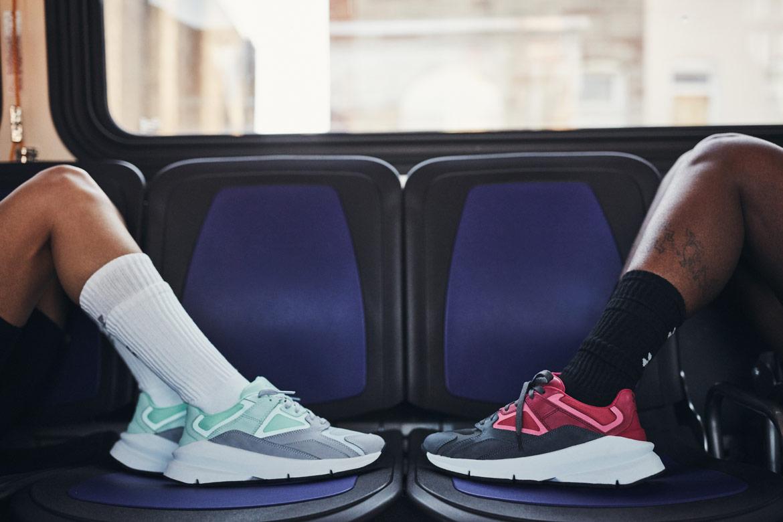 Under Armour Forge 96 — boty — šedé, světle zelené (foam/mod grey) — červené, černé (pink/jet grey) — tenisky — sneakers
