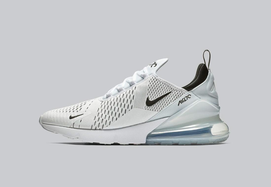 Nike Air Max 270 — bílé — pánské — sneakers — tenisky