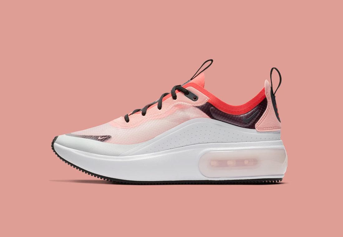 Nike Air Max Dia — dámské boty — růžové, oranžové — pink, orange — sneakers — tenisky