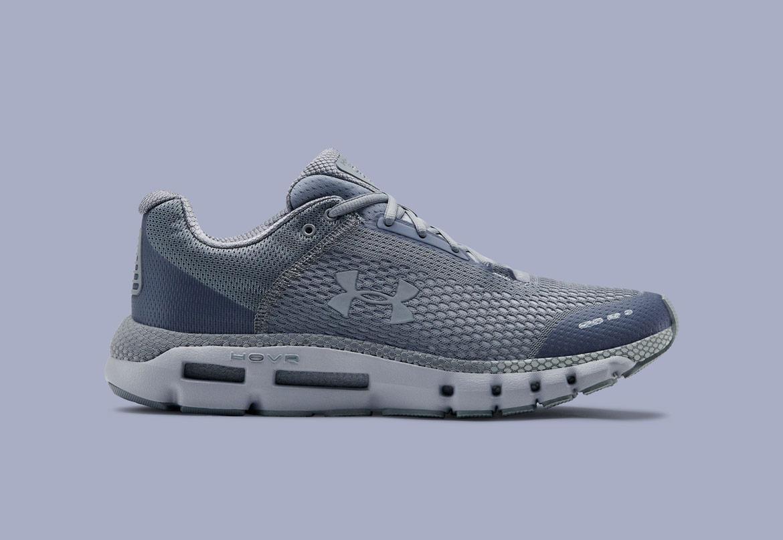 Under Armour HOVR Infinite — běžecké boty — tenisky — šedé (Mod Gray/White) — pánské — running shoes