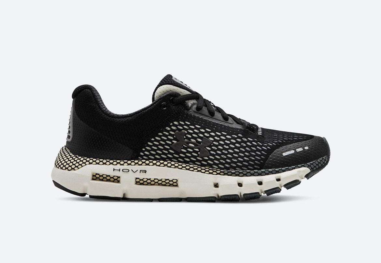 Under Armour HOVR Infinite — běžecké boty — tenisky — černé/šedé (Black/Pitch Gray) — dámské — running shoes