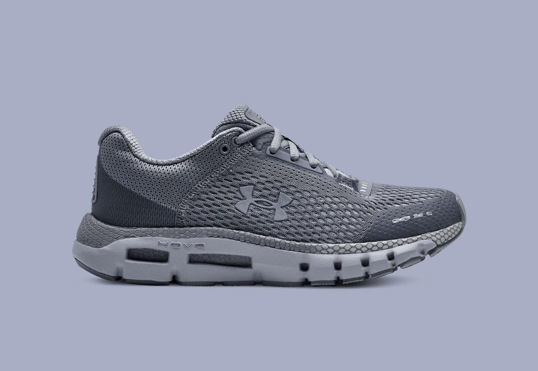 Under Armour HOVR Infinite — běžecké boty — tenisky — šedé (Mod Gray/White) — dámské — running shoes