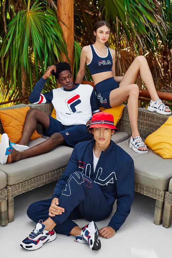 Fila — sportovní oblečení — jaro/léto 2019 — Heritage lookbook