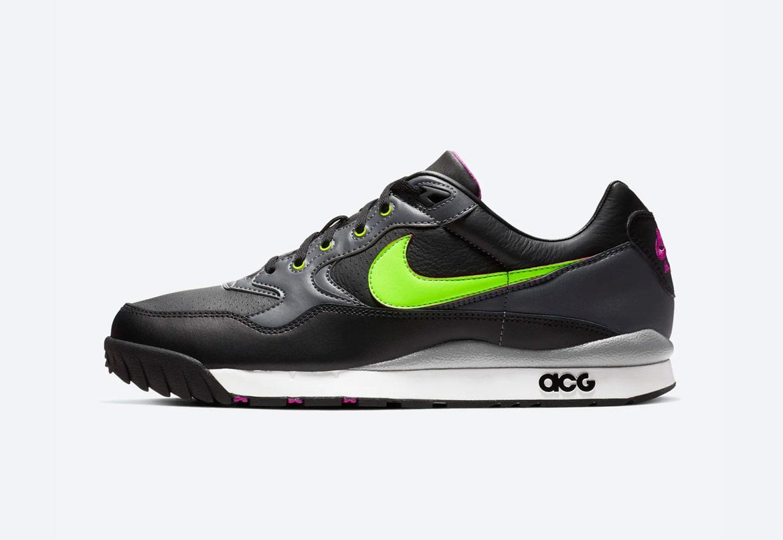 Nike Air Wildwood ACG — outdoorové boty — turistické — černé — pánské, dámské — jaro 2019