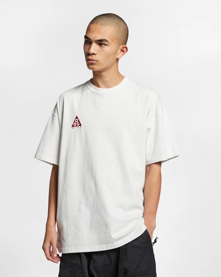 Nike ACG — pánské tričko — bílé — jaro 2019