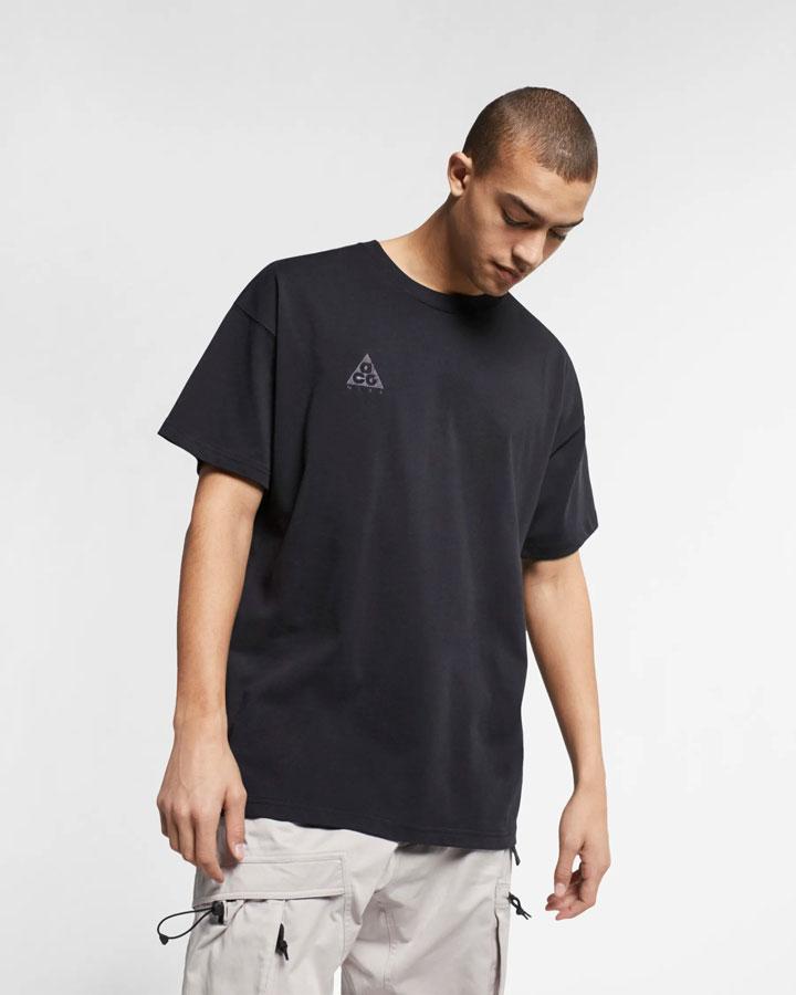 Nike ACG — pánské tričko — černé — jaro 2019