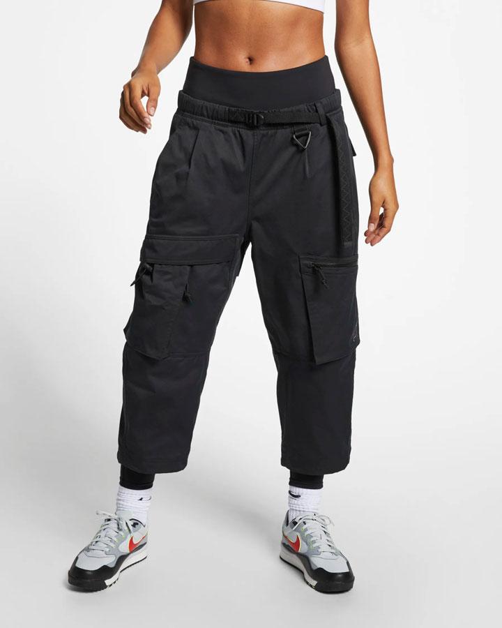 Nike ACG — dámské tříčtvrteční kalhoty — sportovní kapsáče — šedé — jaro 2019