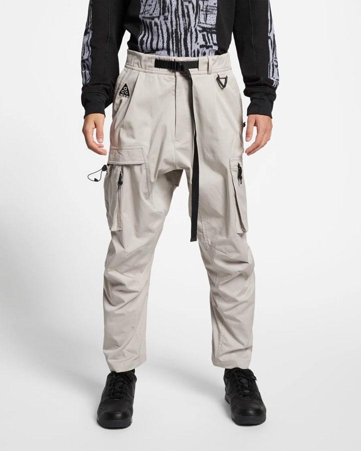 Nike ACG — dámské tříčtvrteční kalhoty — sportovní kapsáče — černé — jaro 2019