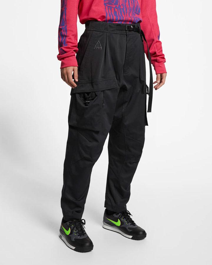 Nike ACG — dámské kalhoty — sportovní kapsáče — šedé — jaro 2019