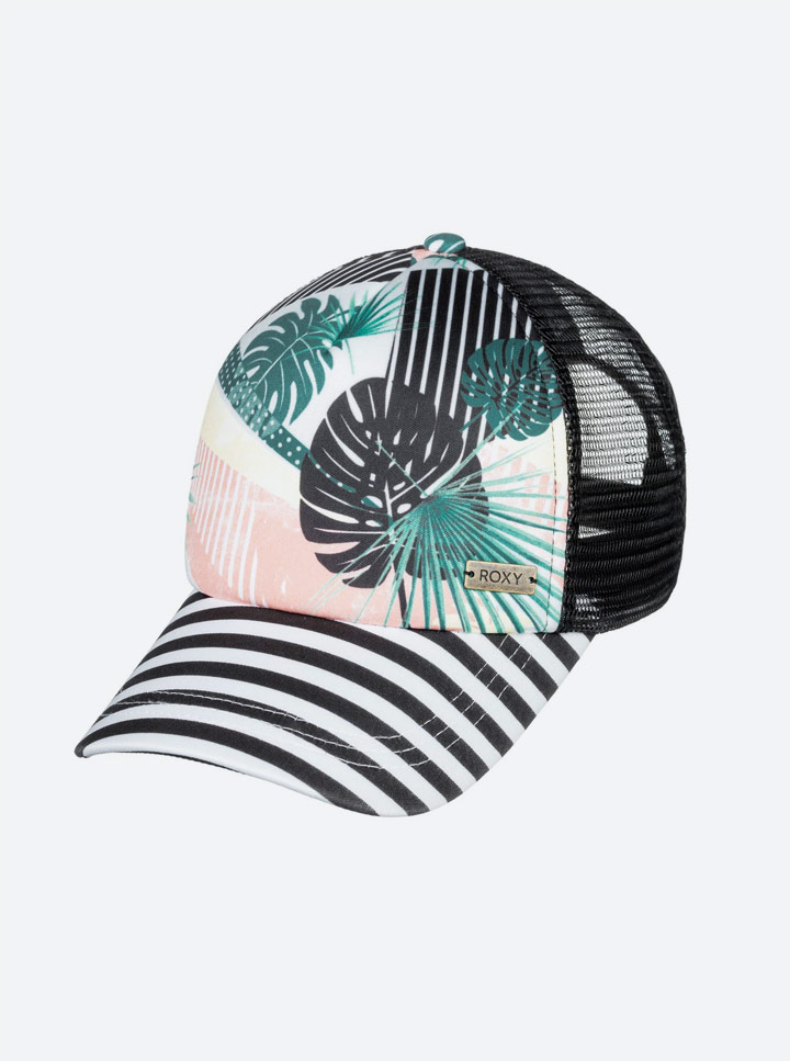 Roxy — Pop Surf 2019 — kšiltovka — barevná — proužkovaná