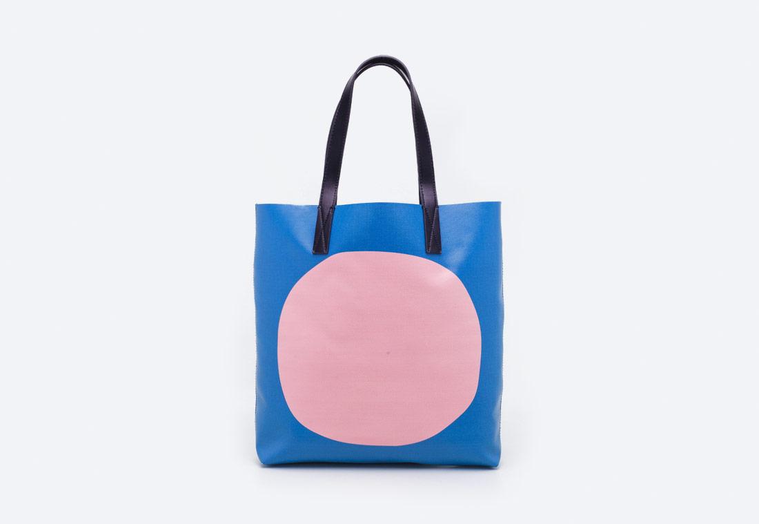 Loreak Plastic Bag — plážová/nákupní taška z PVC — modrá, zelená