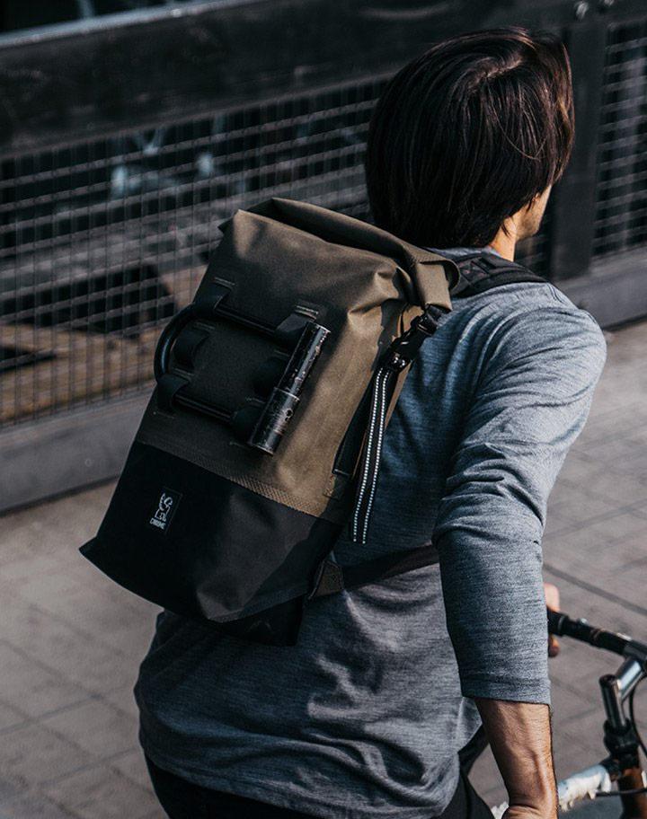 Chrome Industries — městské cyklistické batohy — urban cyclist backpacks