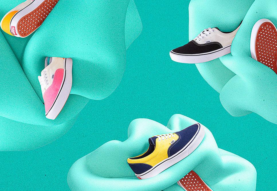 Vans ComfyCush — boty — tenisky — pohodlné Vansky