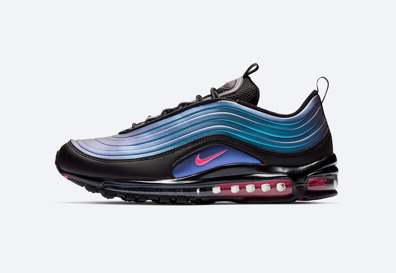 Nike Air Max 97 — duhové boty (iridescent) — dámské, pánské — tenisky — sneakers — Throwback Future Pack