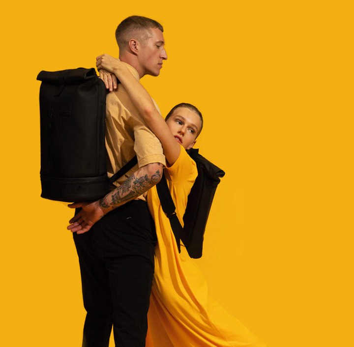 Ucon Acrobatics — veganské sustainable batohy —