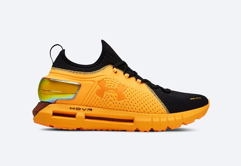 Under Armour HOVR Phantom SE — běžecké boty — sportovní — pánské — oranžové — Mango Orange/Black — Sport Edition