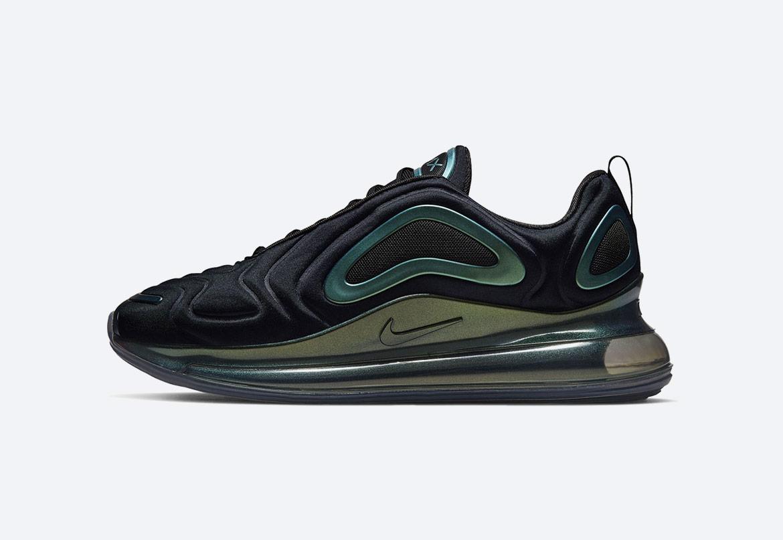 Nike Air Max 720 (Greater China Exclusive) — duhové boty (iridescent) — dámské, pánské — tenisky — sneakers — Throwback Future Pack