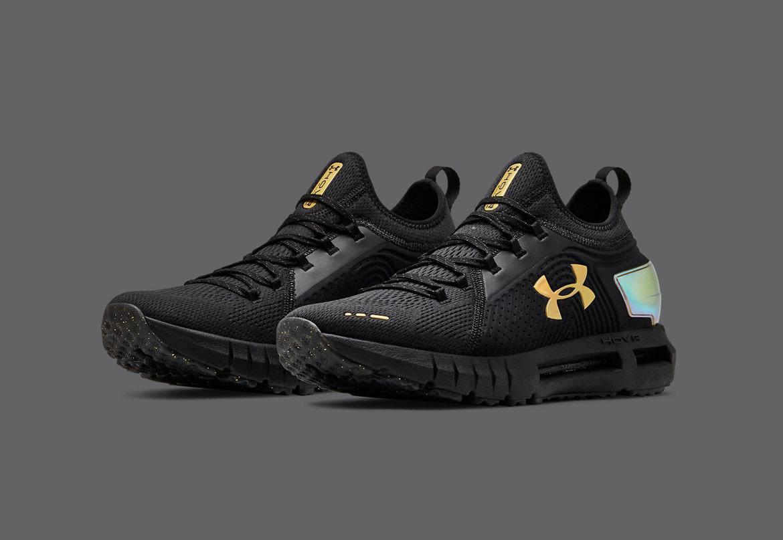 Under Armour HOVR Phantom SE — běžecké boty — sportovní — pánské — černé — Jet Gray/Black — Sport Edition