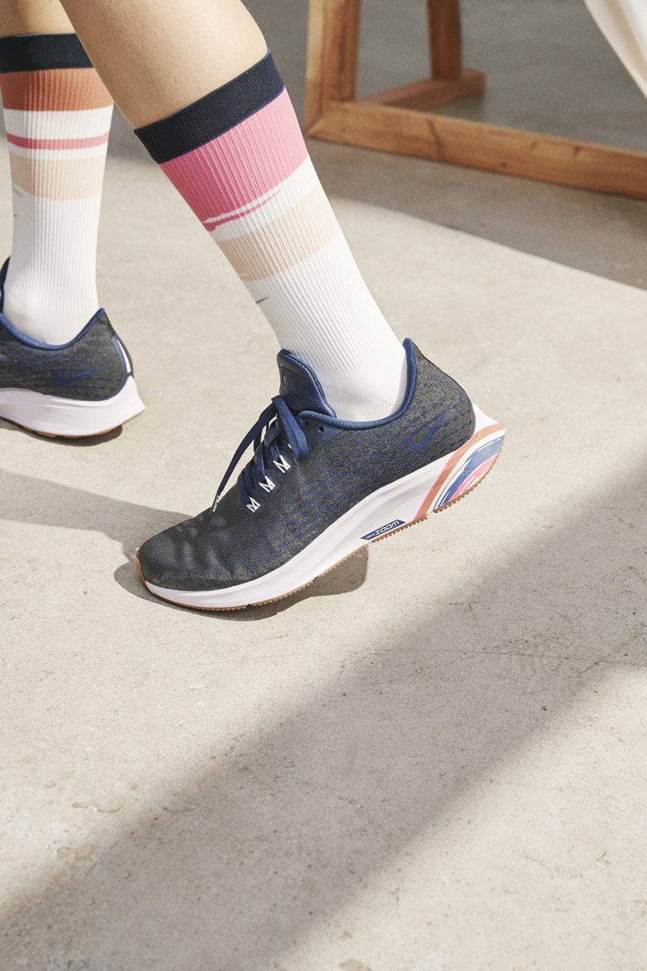 Nike Running Women — šedé běžecké boty Nike Air Zoom Pegasus 35 Premium — dámské