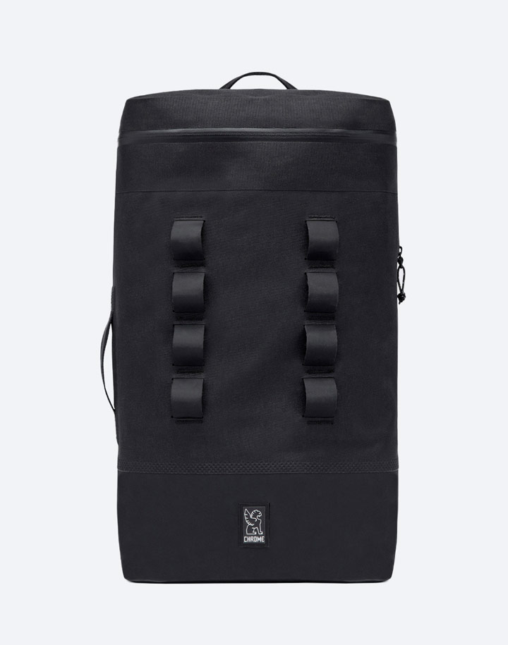 Chrome Industries — městský cyklistický batoh — Urban Ex Gas Can Pack 22 l — urban cyclist backpack — černý