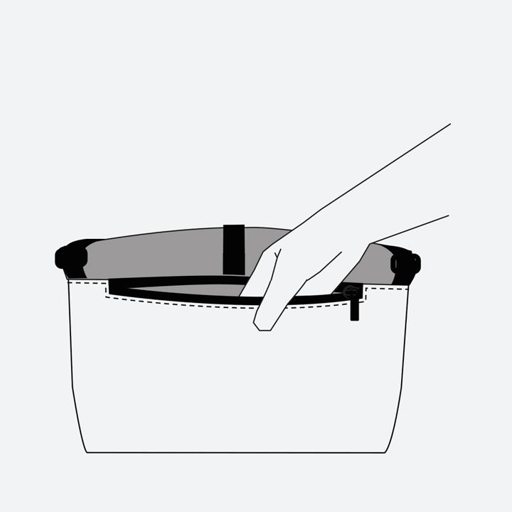 Freitag F640 ROLLIN — nákres — kapsa