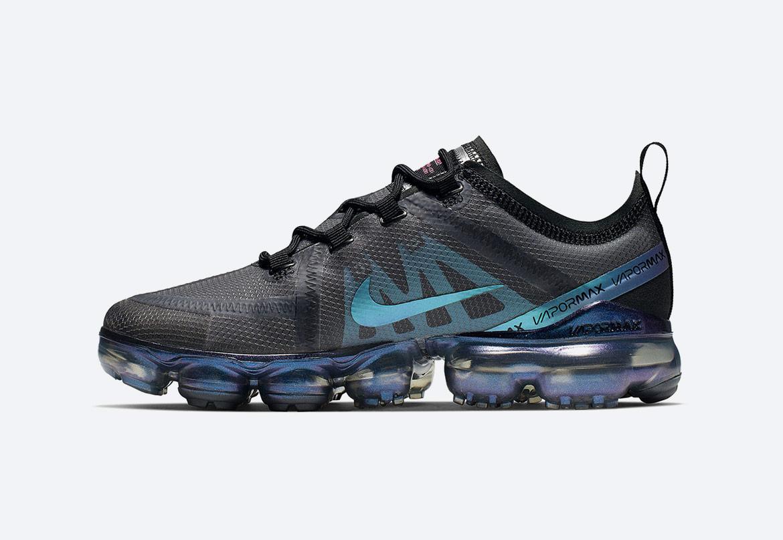 Nike VaporMax 2019 — duhové boty (iridescent) — dámské, pánské — tenisky — sneakers — Throwback Future Pack