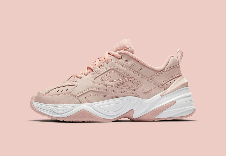 Nike M2K Tekno — dámské boty — tenisky — sneakers — růžovo-béžové — pink, beige — chunky ugly shoes
