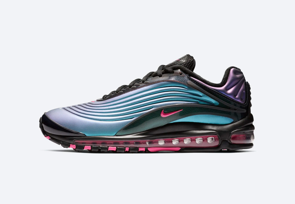 Nike Air Max Deluxe — duhové boty (iridescent) — pánské — tenisky — sneakers — Throwback Future Pack