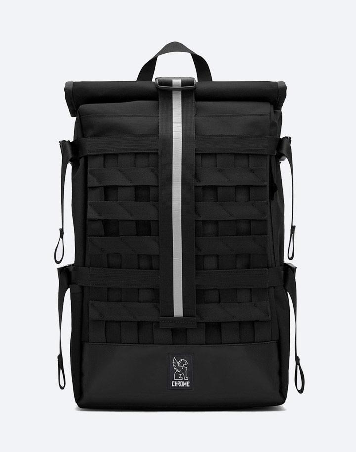 Chrome Industries — městský cyklistický batoh — Barrage Cargo — urban cyclist backpack — černý