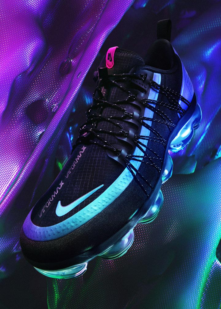Nike VaporMax Utility — duhové boty (iridescent) — pánské — tenisky — sneakers — Throwback Future Pack