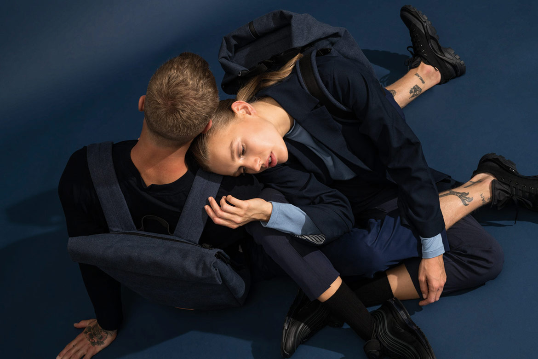 Ucon Acrobatics — plátěné batohy — modré — vegan, sustainable