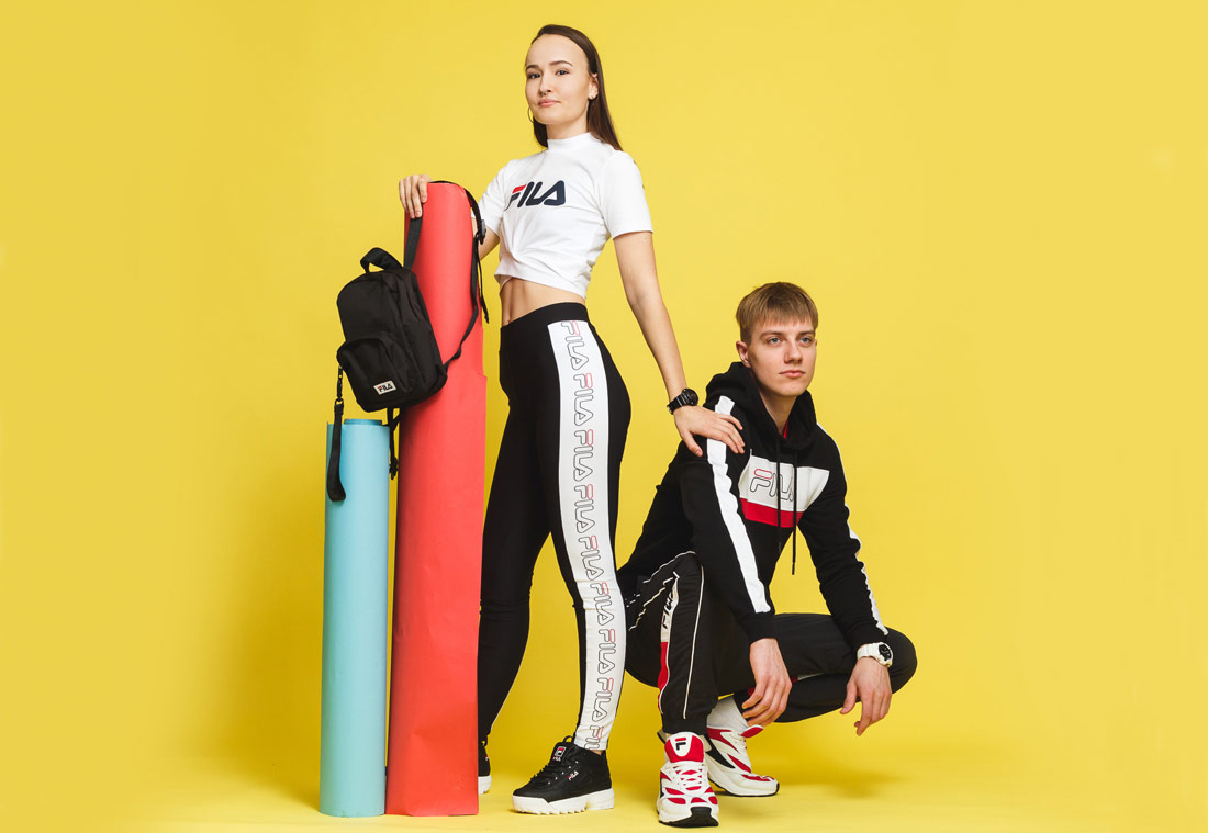 Fila x Queens — lookbook — jaro/léto 2019