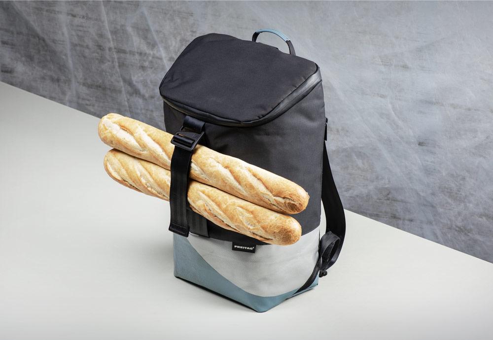 Freitag F600 Carter — batoh recyklovaný z plachty a PET lahví — sustainable recycled backpack
