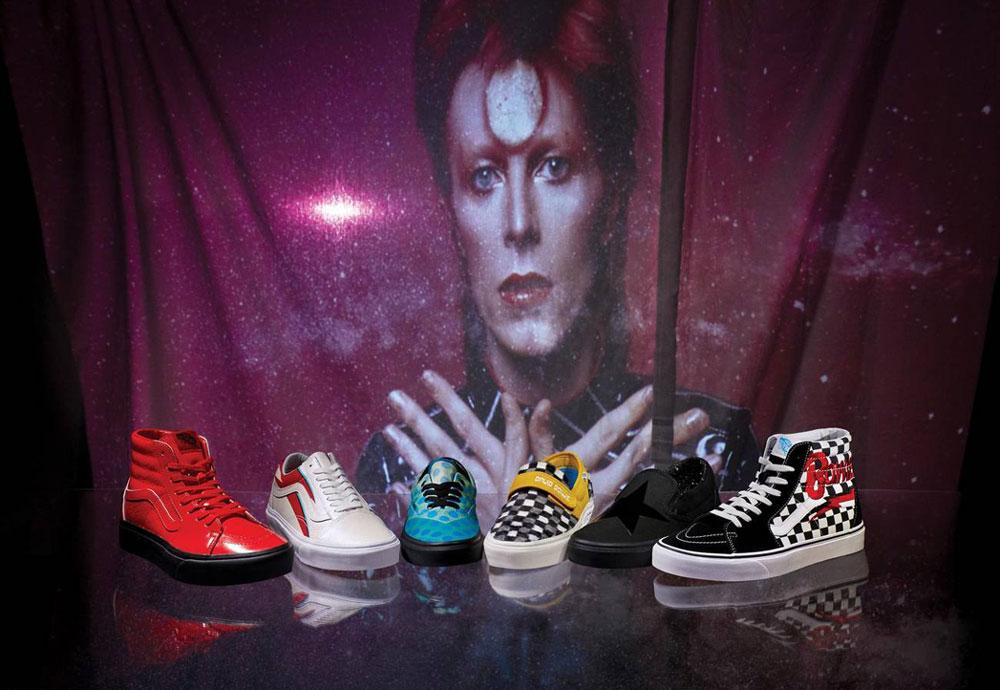 Vans x David Bowie — kolekce oblečení a bot