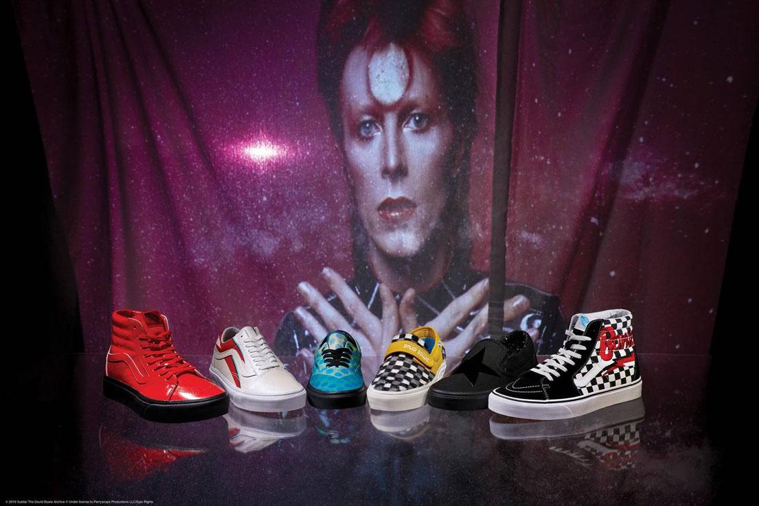 Vans x David Bowie — boty — nízké, kotníkové