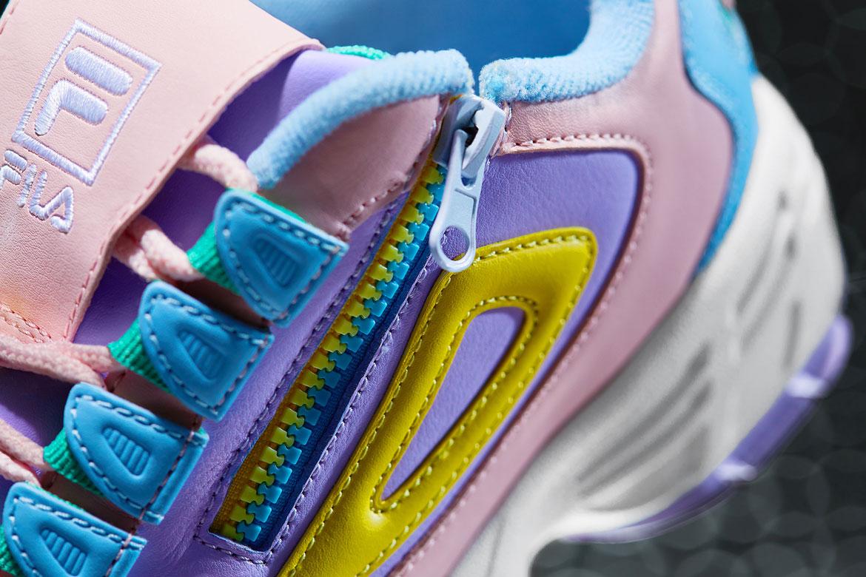 Fila Disruptor 3 — boty — svršek — se zipem — chunky sneakers