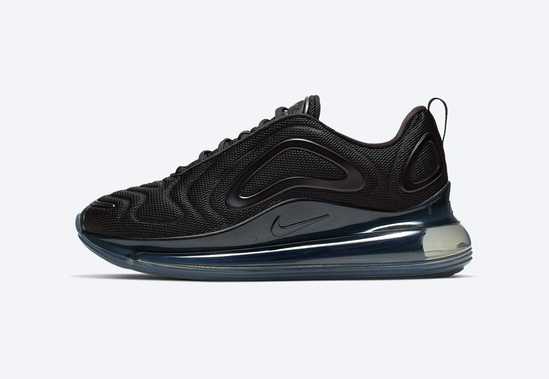 Nike Air Max 720 — boty — černé — dámské — sneakers