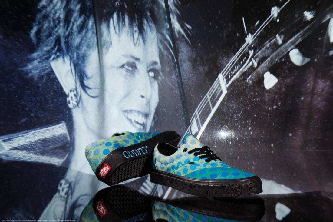 Vans x David Bowie — boty Vans x DB Era — zeleno-modré