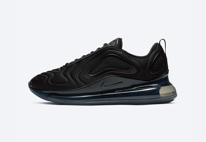Nike Air Max 720 — boty — černé — pánské — sneakers